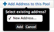 Add first host address