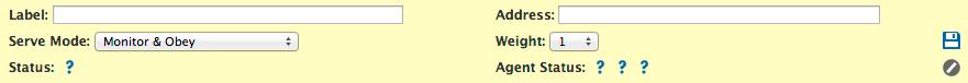 Address pool form