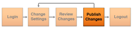 API Flow - Publish Changes