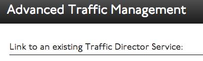 Select Traffic Director Link