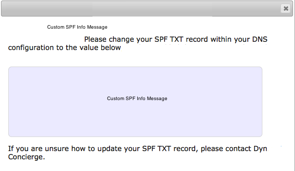 Email Approved Sender SPF Note
