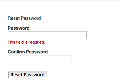 Reset DII Password