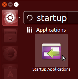 Figure 11: Launching Startup Applications.