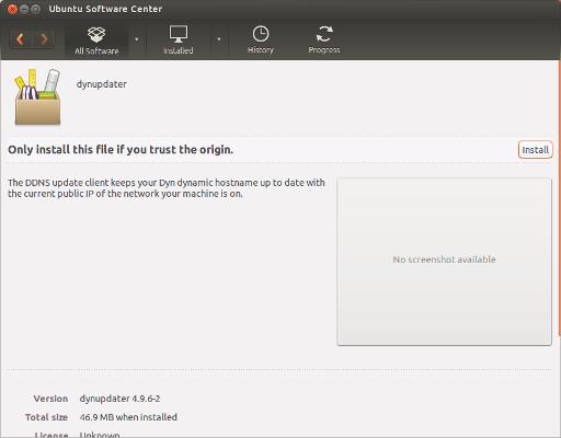 how to stop installing in ubuntu software center