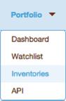 Inventory Menu View DII