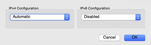 IPv4 Configuration