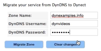 Migrate Dynamic DNS Zones From Standard to Express | Dyn